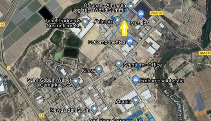 Pol. Ind. Las Salinas, Avenida Suecia, Parcela 3-1, ,Nave,En Venta,Pol. Ind. Las Salinas, Avenida Suecia, Parcela 3-1,1022